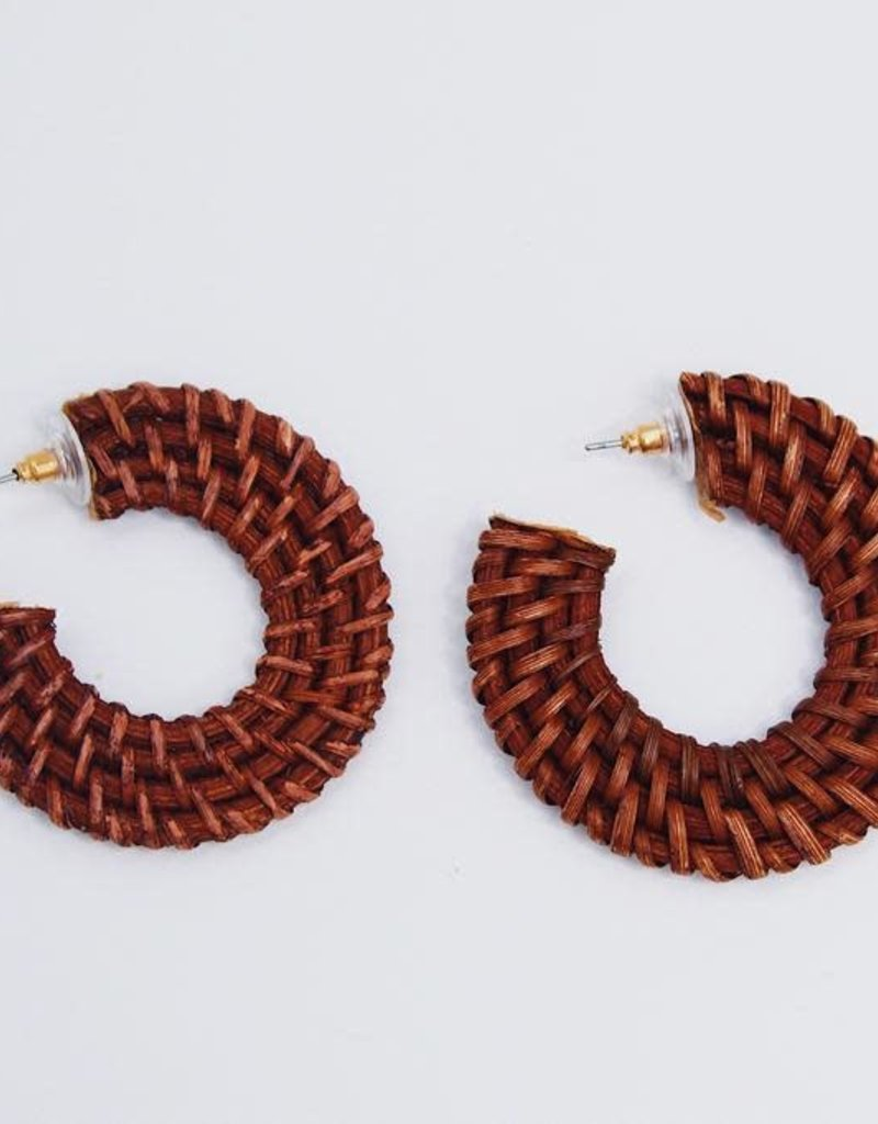 U.S. Jewelry House (New York Style) Dream Weaver Hoops