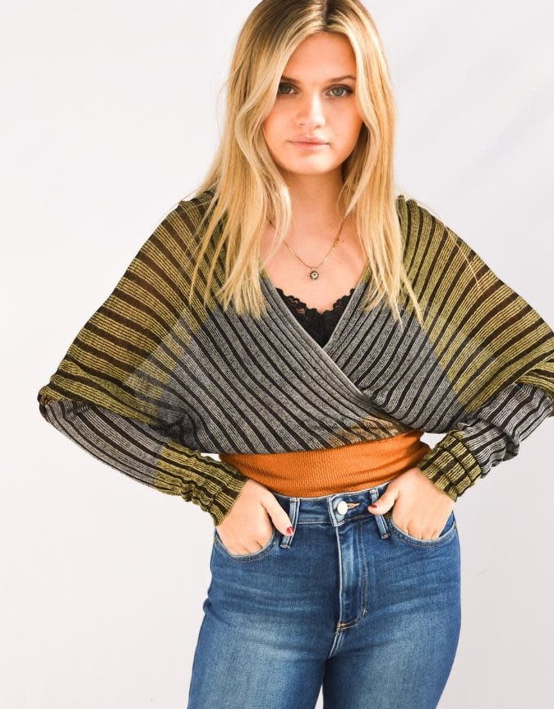 Free People Pluto Wrap Top