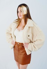 HYFVE Leather Get Together Skirt