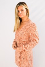 Free People Kinsley Wrap Dress