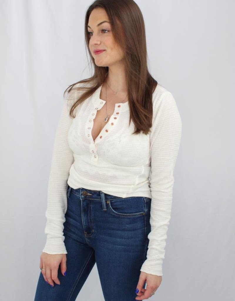 Free People OB1042192-One Of The Girls Henley