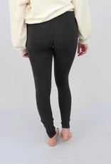 M Rena Tummy Tuck High Waist Leggings w/ Heather Color