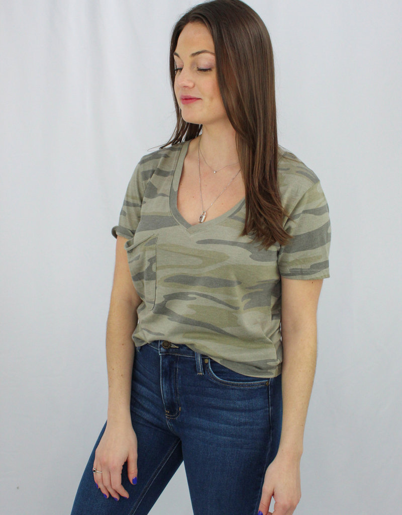 Z Supply The Camo Classic Skimmer Tee