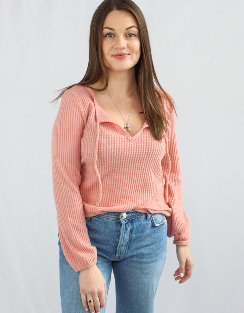 Z Supply Larissa Thermal Top