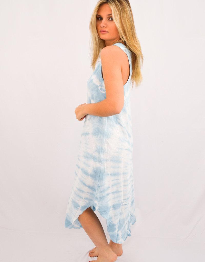 Z Supply Reverie Spiral Tie-Dye Dress