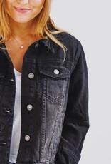 Free People OB896012-Rumors Denim Jacket