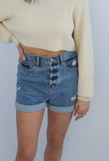 Daze Dad's Girl HR Denim Shorts