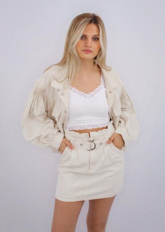 She + Sky Off Duty Skirt