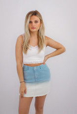 She + Sky Sunset Sky Skirt