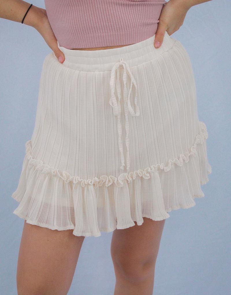 She + Sky Golden Apple Skirt