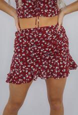 Cotton Candy Merlot Please Skirt