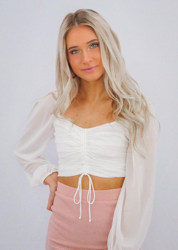 Cotton Candy Sheer Heart Top