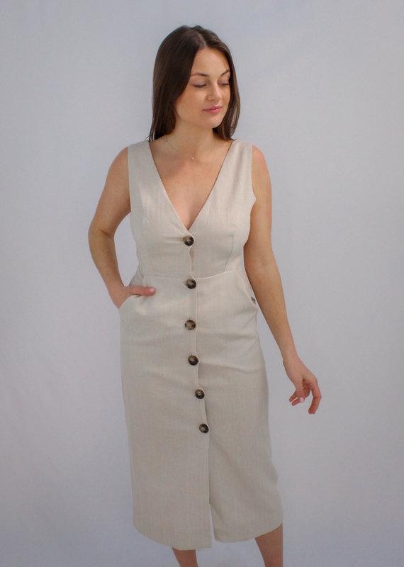 Aakaa Make a Wish Midi Dress