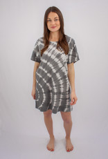 Z Supply Launa Swirl Tie-Dye Dress