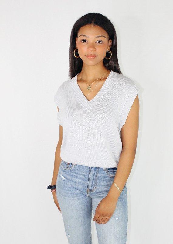 Cotton Candy Cloud Nine Sweater Vest