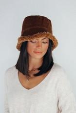 Look by M Fuzzy Reversible Bucket Hat