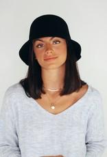 Look by M Wool Bucket Hat