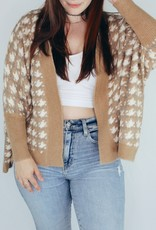 Look by M Houndstooth Cardigan