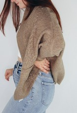Look by M Gave Me Chills Cardigan