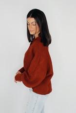 She + Sky Ain't No Collar Back Girl Sweater