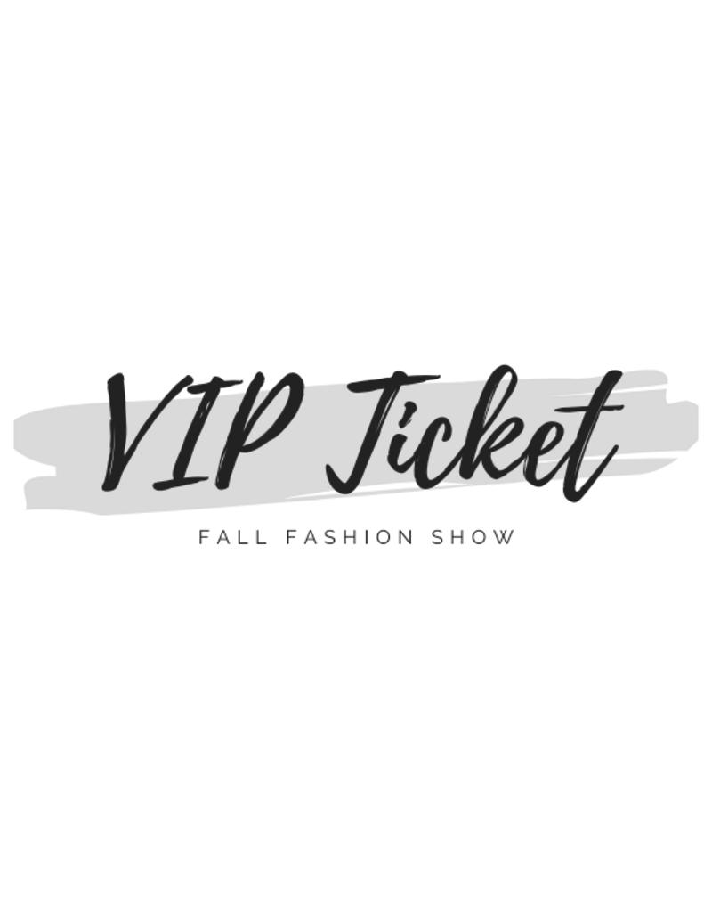 Rochelle's VIP Fashion Show Ticket
