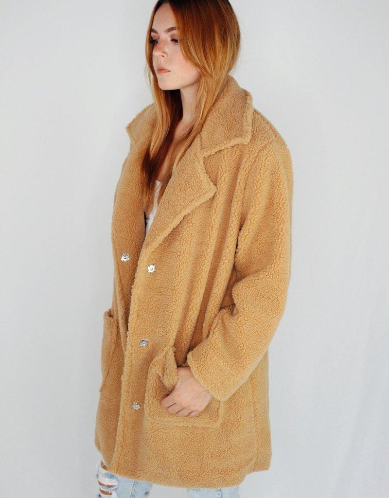 She + Sky Hug Your Teddy Coat