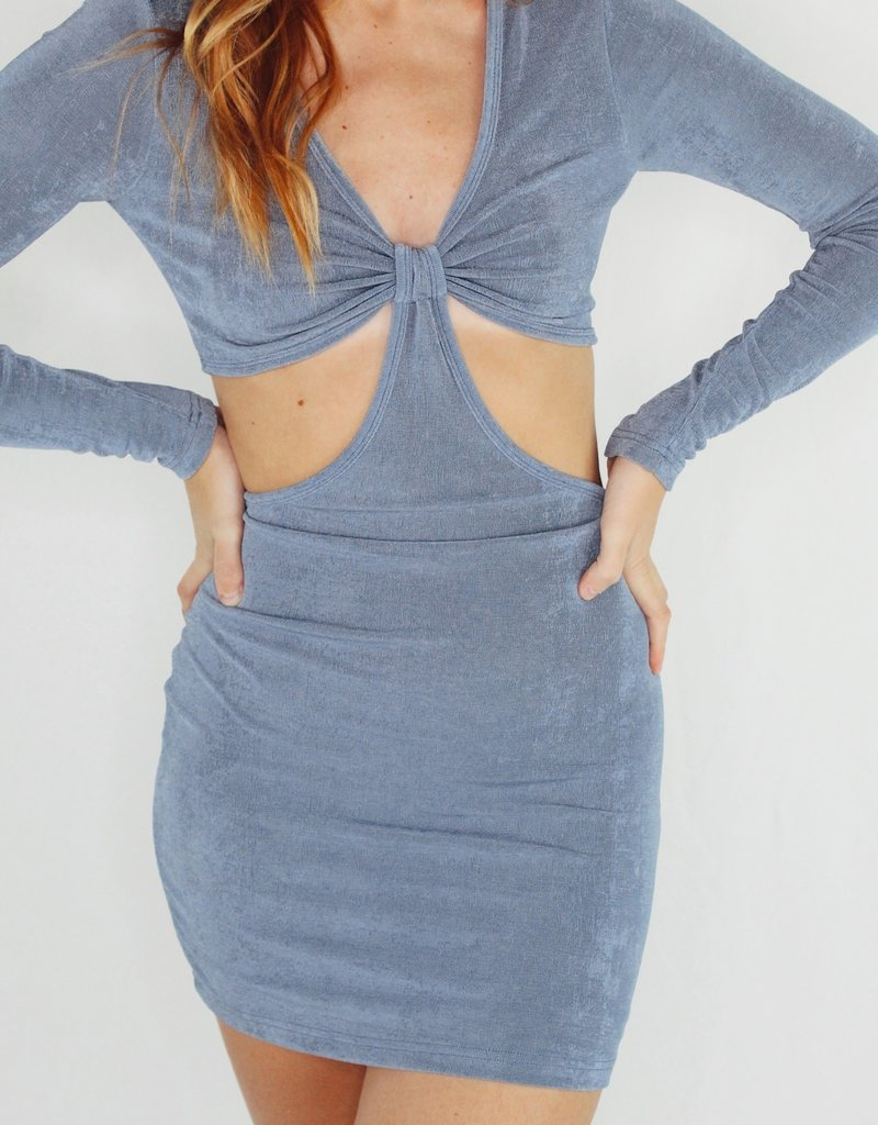 Cotton Candy Cut It Out Dress