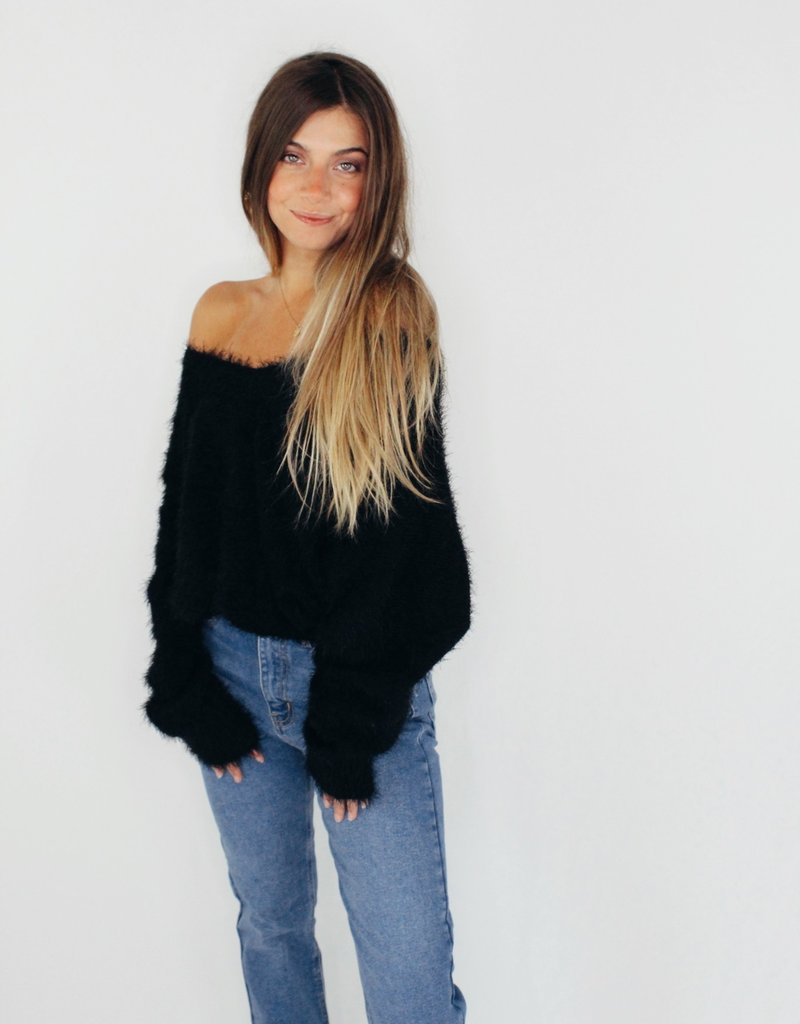 She + Sky Heart Starts to Wonder Sweater