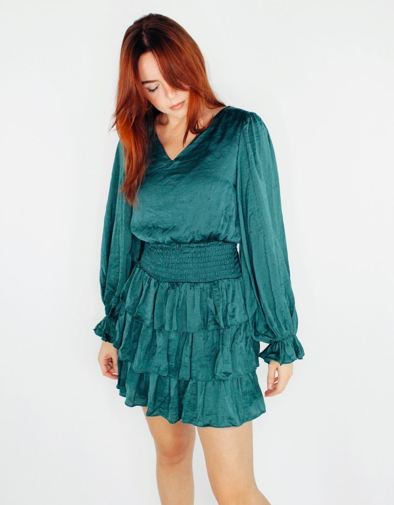 She + Sky Dry Your Tiers and Smock Him Dress