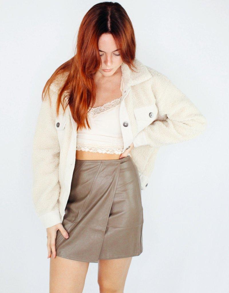 She + Sky Fall Vibes Skirt