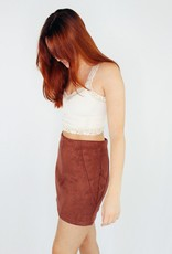 She + Sky PerSUEDE Me to Love You Skirt