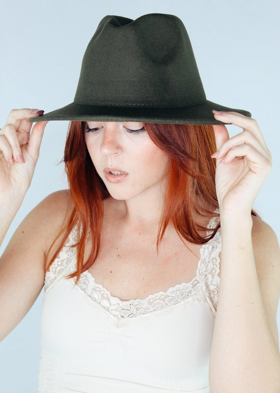Suzie Q USA Woven Double Sided Color Matching Jazz Hat