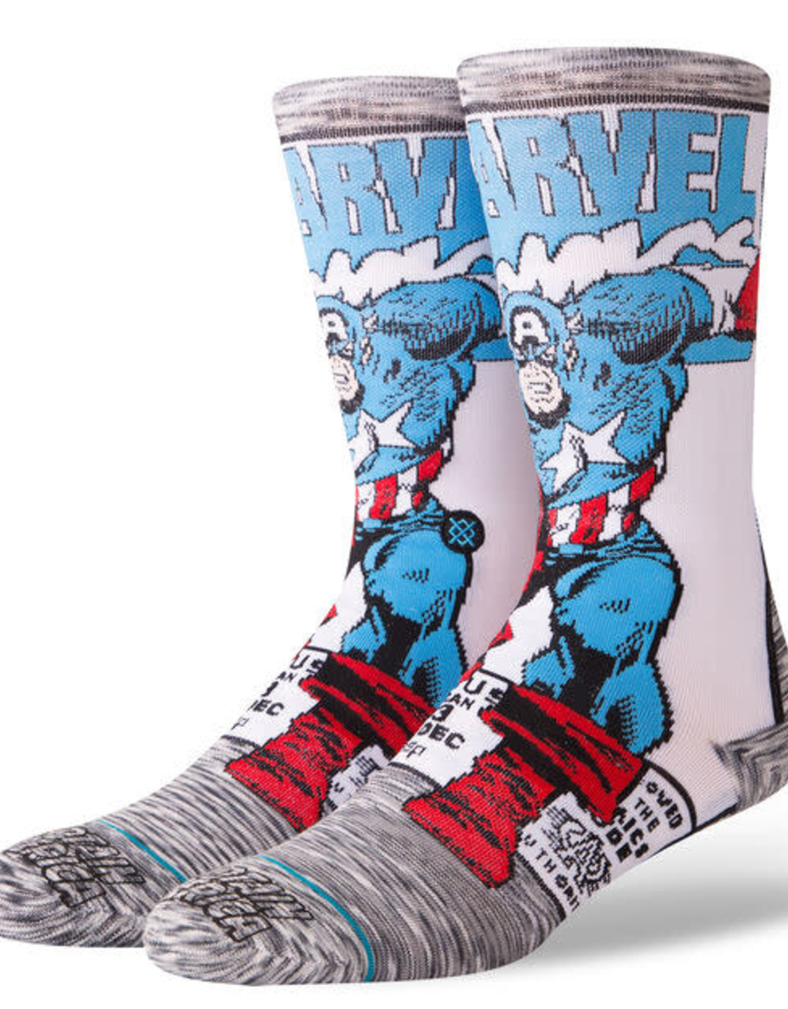 STANCE - Captain America Comic Socks