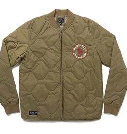 Quiet Life Shhh Waves Army Shell Jacket