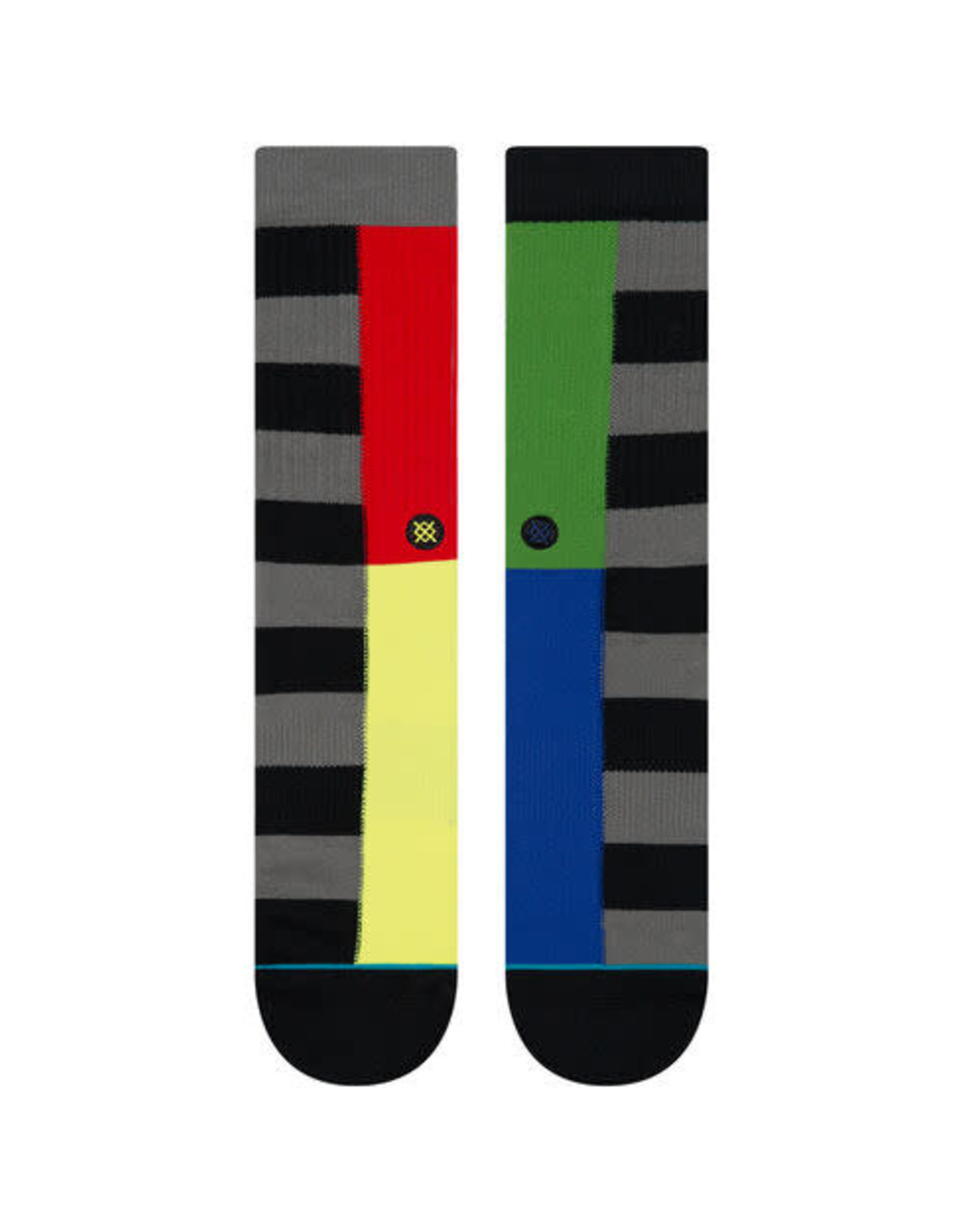 Split Check Stance Socks