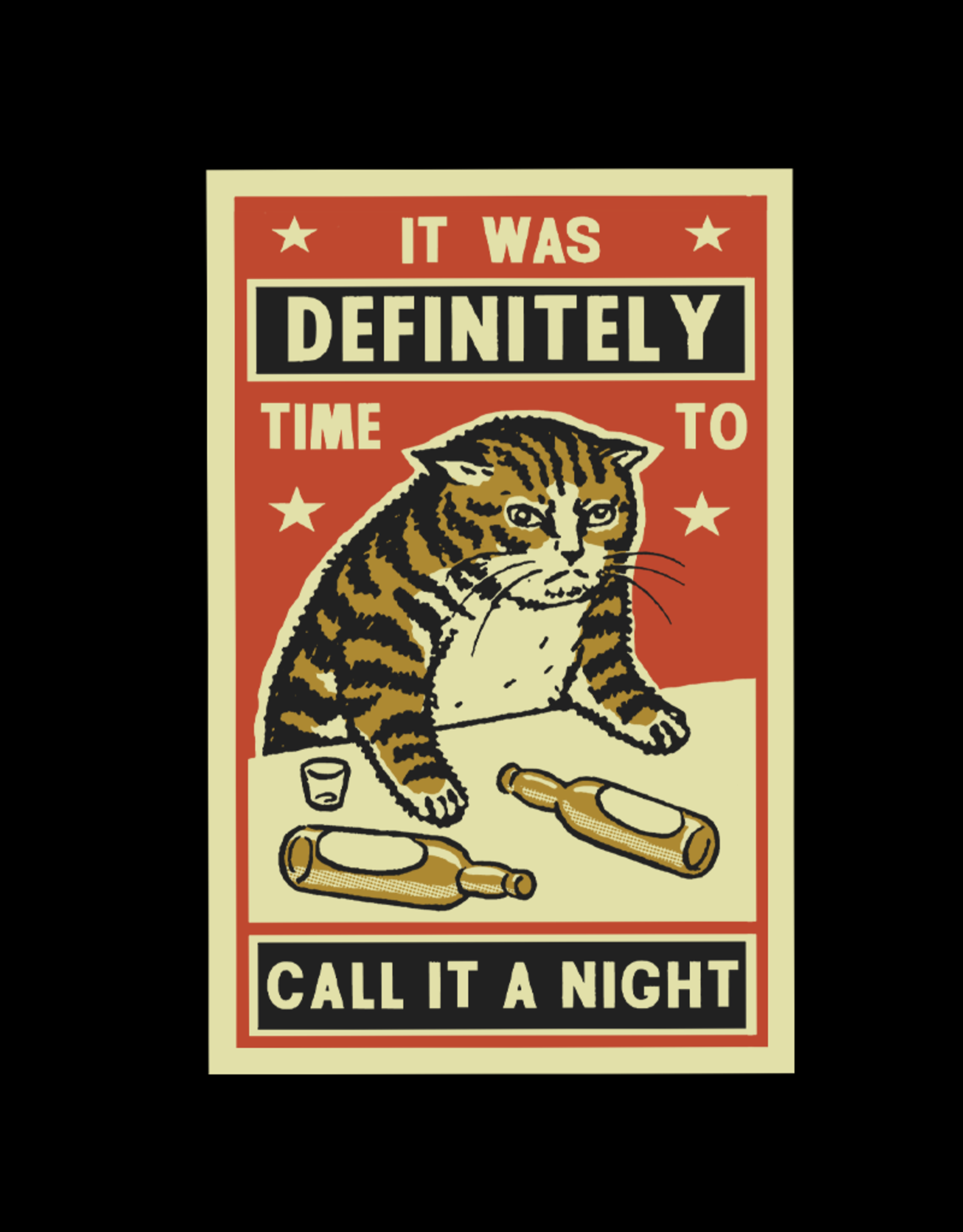 Call it a Night Mens Tee