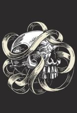 Skull & Ribbon by John Van Horn Tee
