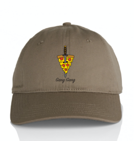 Pizza Gang Gang Dad Hat