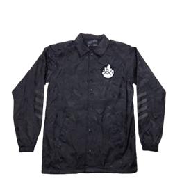 Cityscape Patch Button-Down Jacket
