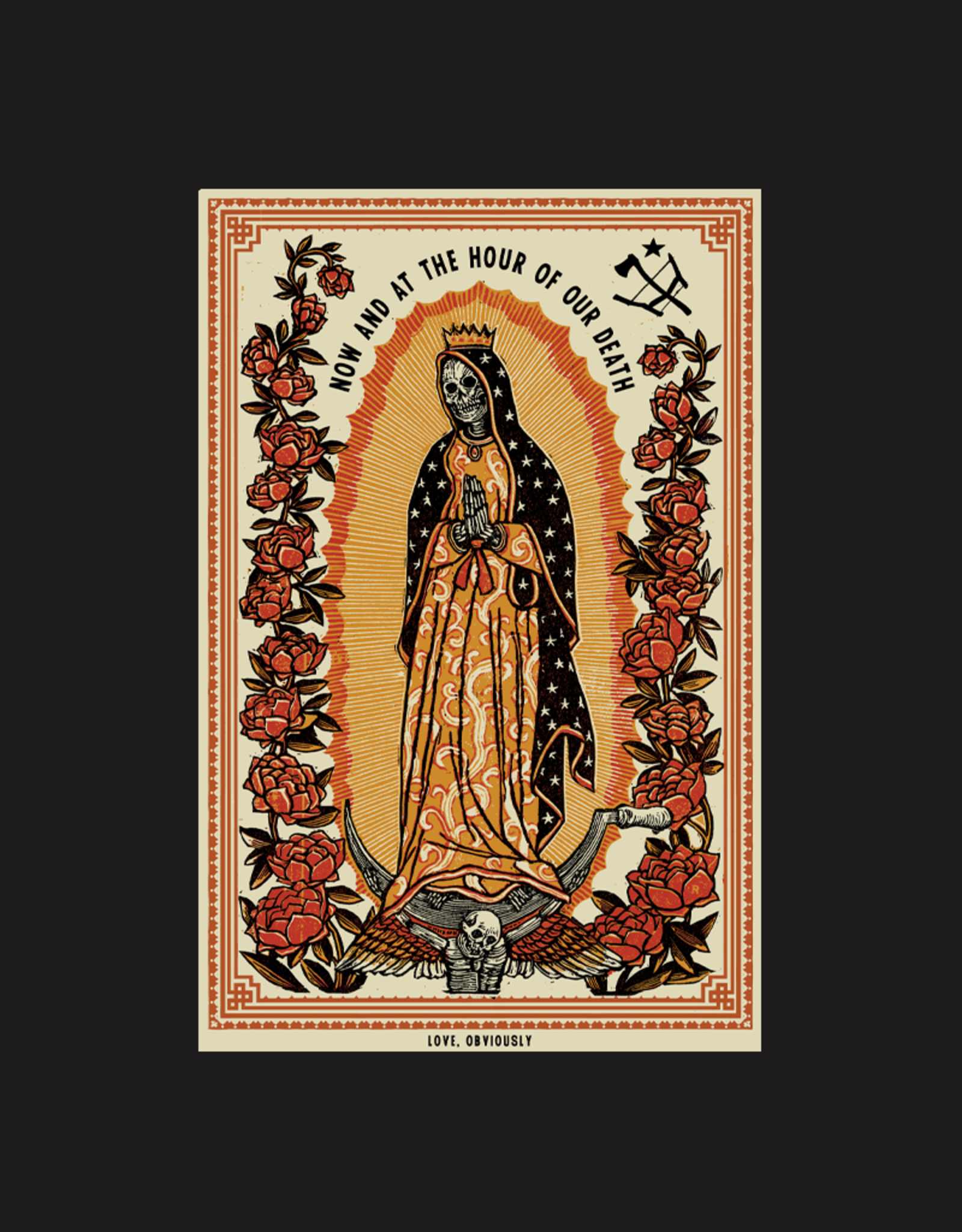 Love Obviously By Ravi Zupa Tee