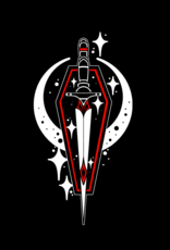 Abstract Coffin-Dagger by Chase Martines Tee