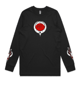 Abstract Coffin-Dagger by Chase Martinez Long Sleeve