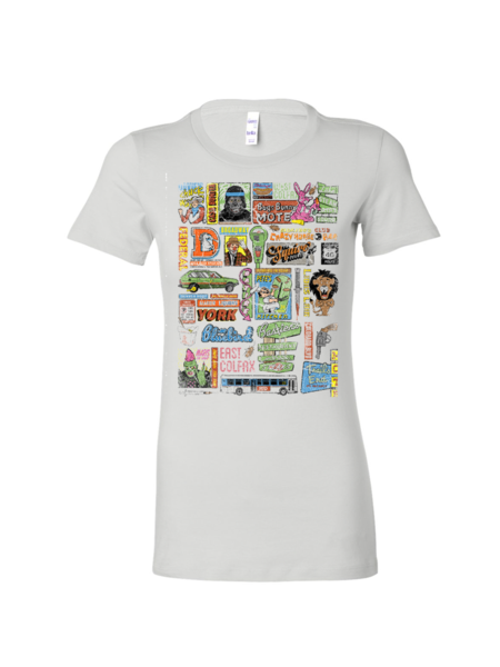"""""""Just the Fax"""" by Chris Huth Women's Tee"""