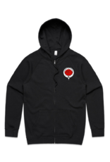 Abstract Coffin-Dagger by Chase Martinez Hoodie
