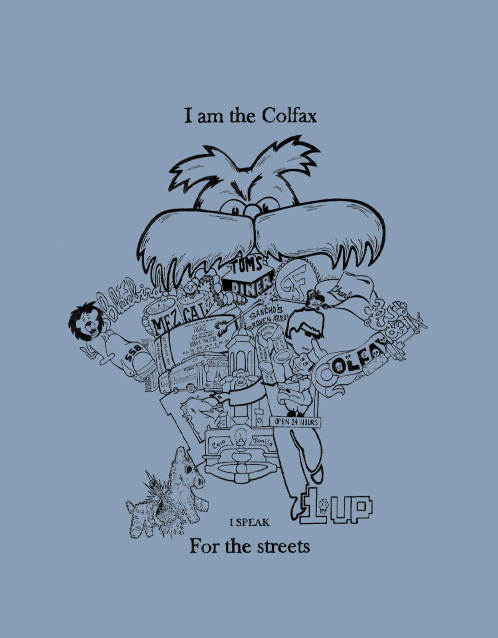 LAST CHANCE I Am Colfax by Corey Merrit Women's Tee
