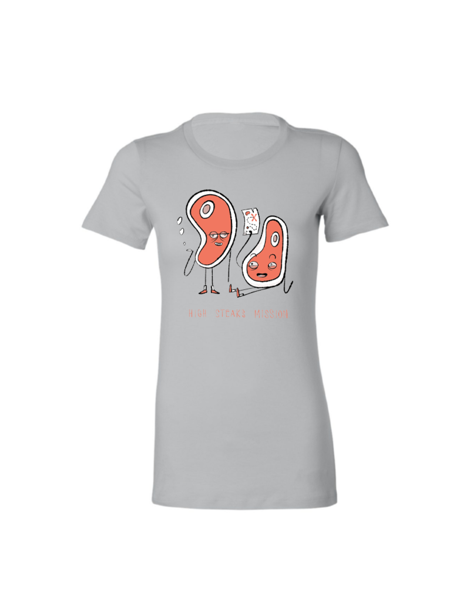 High Steaks Mission by Evan Lorenzen Women's Tee