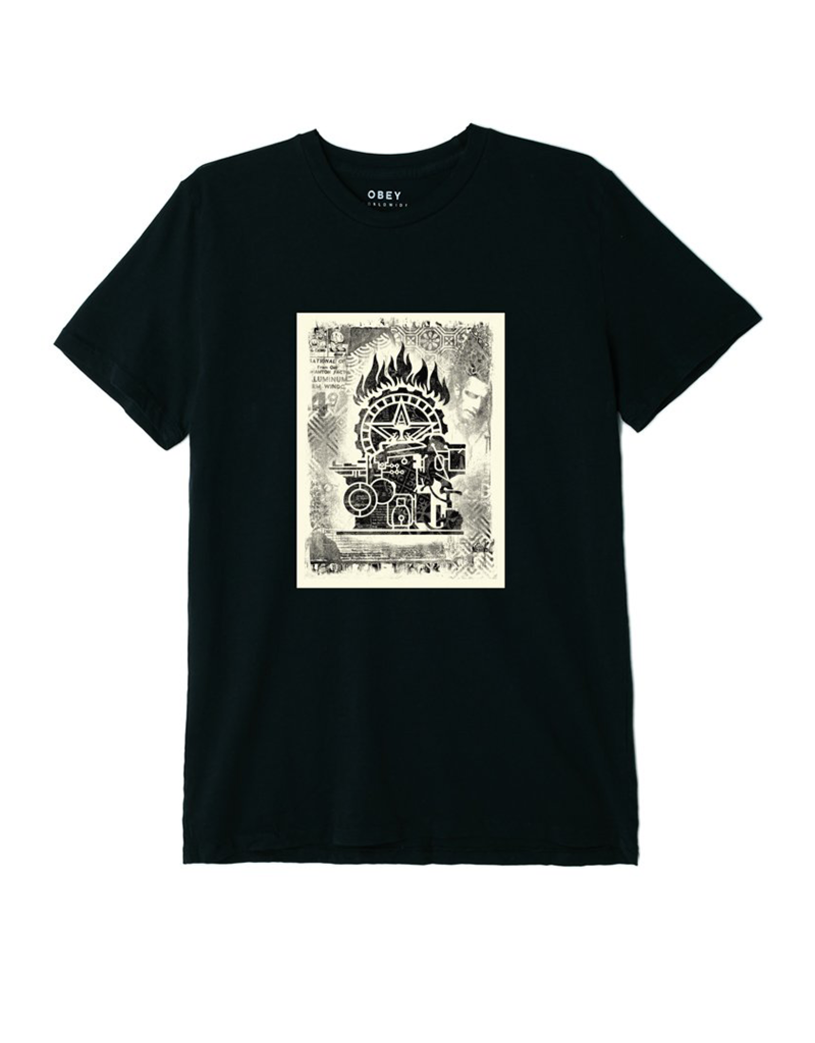 Obey Press Etching Tee
