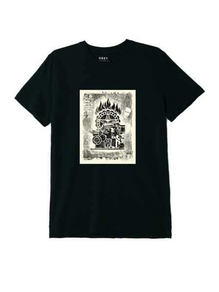 Obey Obey Press Etching Tee