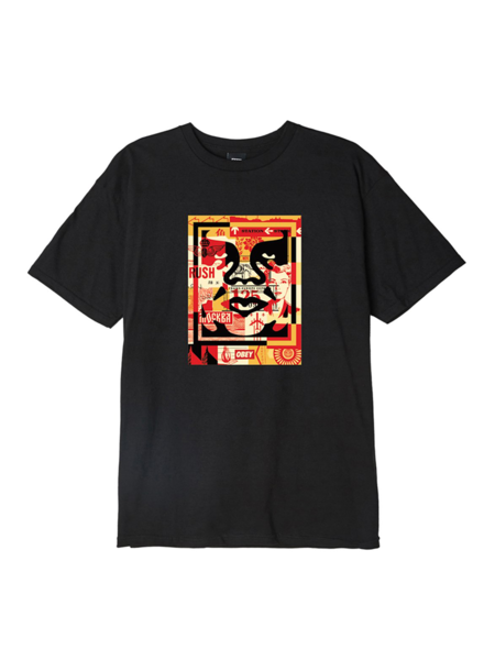 Obey Obey 3 Face Collage Tee