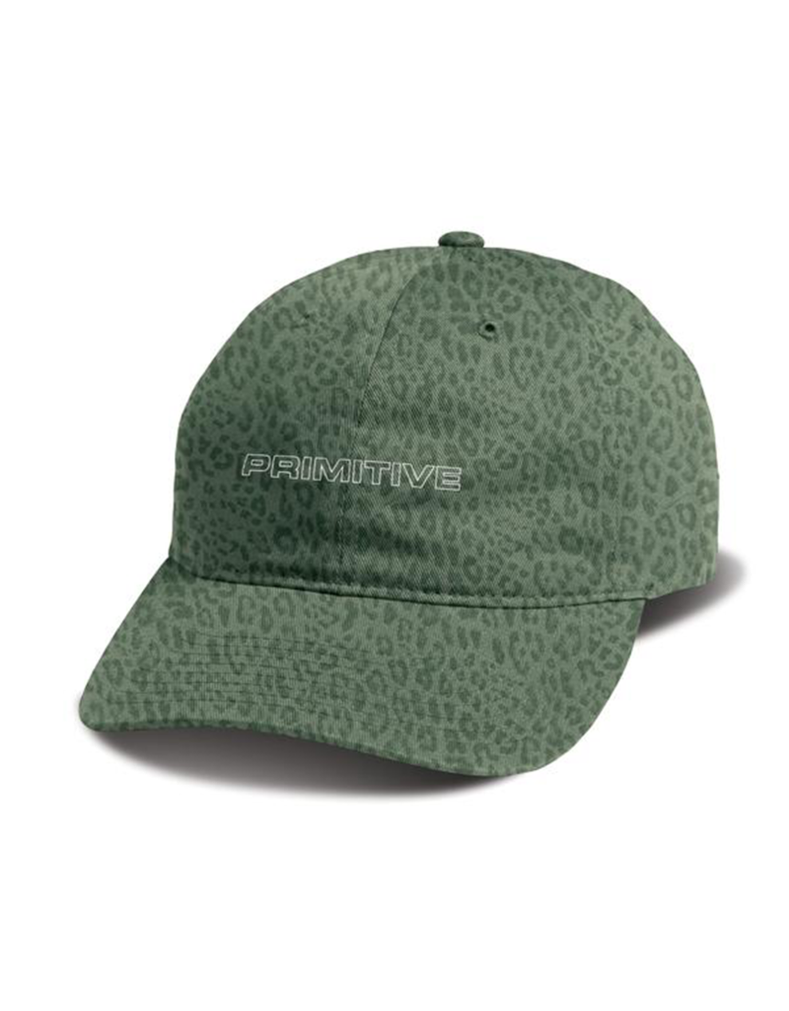 PRIMITIVE EXPEDITON CHEETAH PRINT DAD HAT